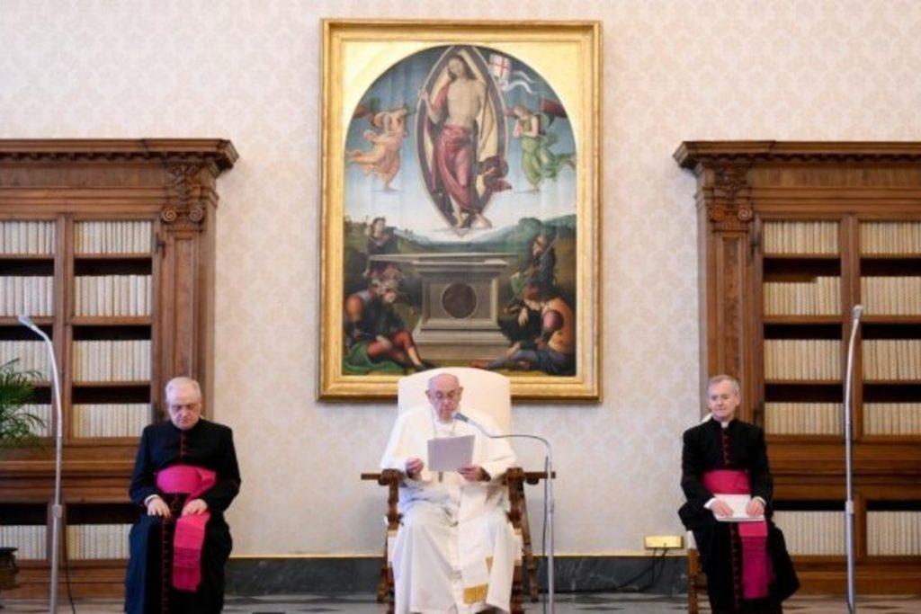 El Papa Francisco en Audiencia General.