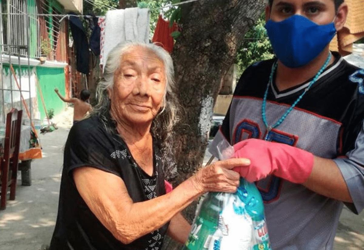 Cáritas Mexicana ha entregado más de cien mil despensas durante la pandemia./ Foto: Cáritas Mexicana