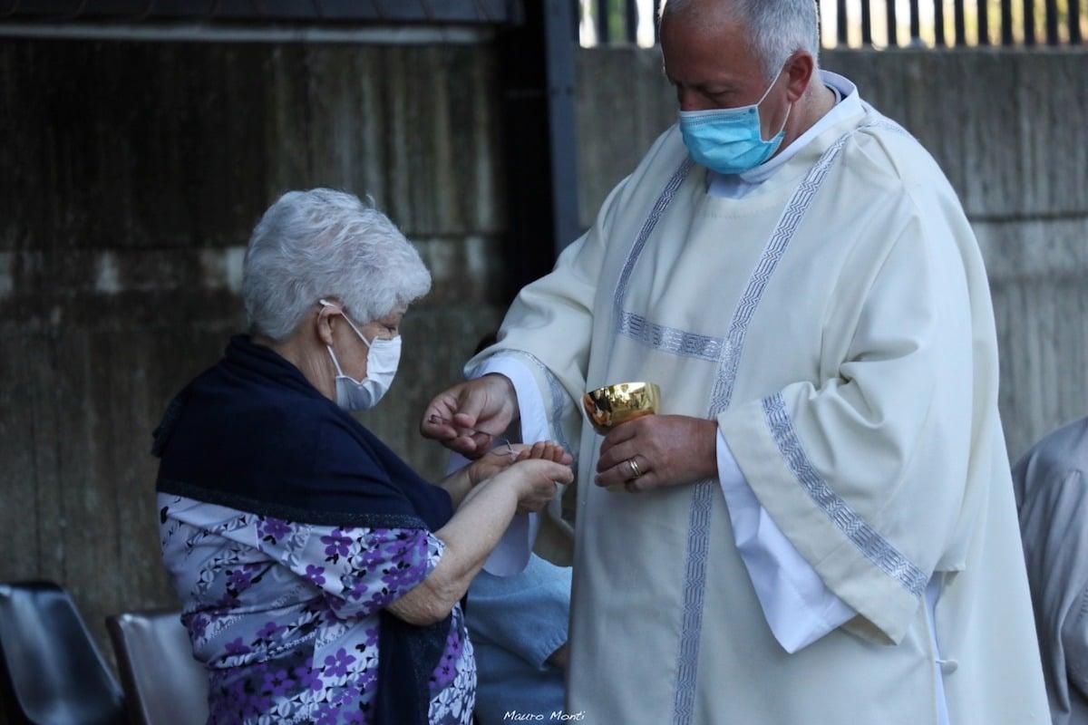 Habrá en Misas restricciones sanitarias, mientras dure la contingencia. Foto: Mauro Monti/Diócesis de Roma