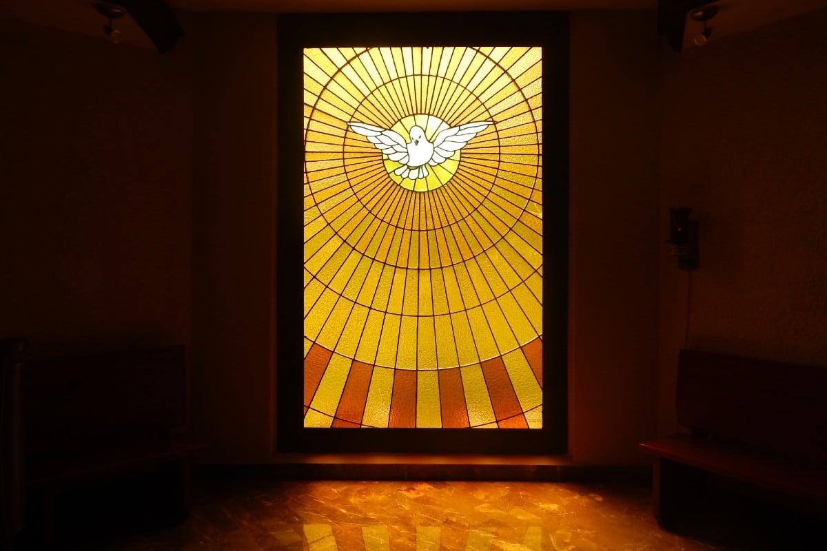 Representación del Espíritu Santo.