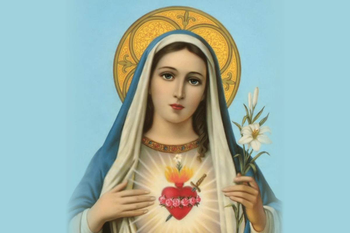 El Inmaculado Corazón de María.