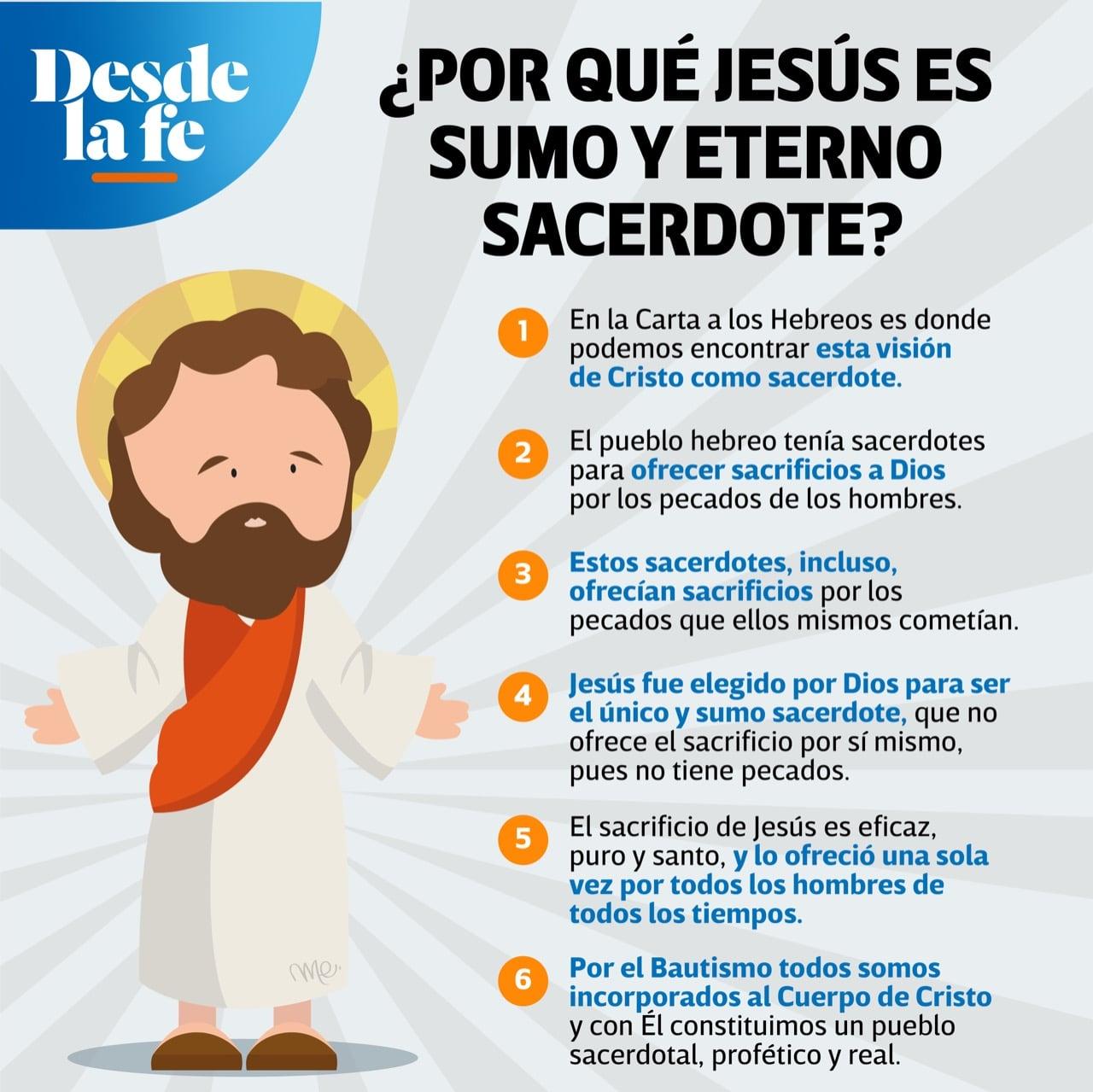 Jesucristo, Sumo y Eterno Sacerdote.