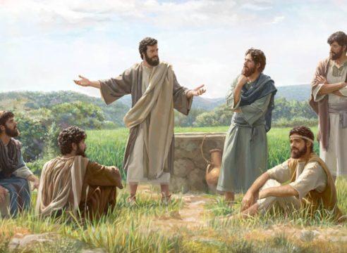 ¿Por qué Jesús compara las labores de sus apóstoles con una cosecha?