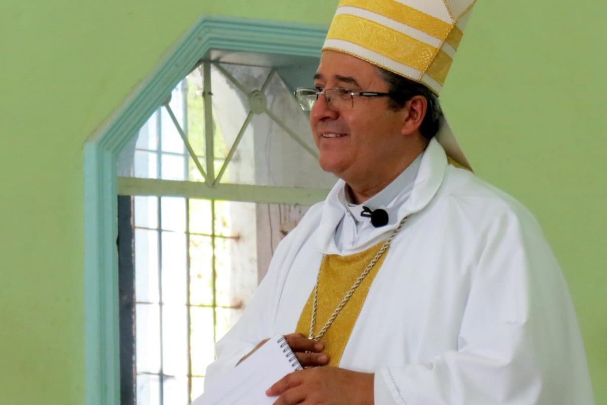 Mons. Joel Ocampo Gorostieta, Obispo de Ciudad Altamirano. Foto: Diócesis de Ciudad Altamirano/Cortesía.