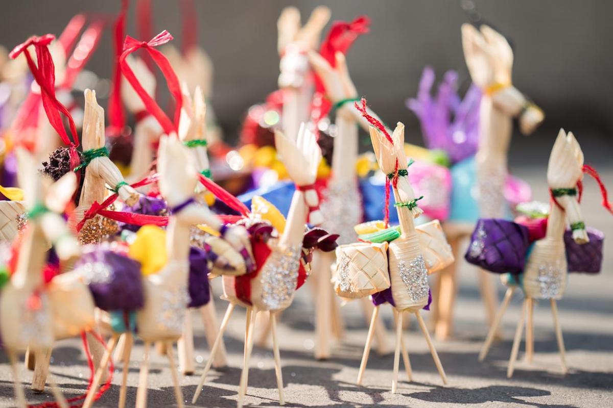 Mulitas artesanales que se regalan en Corpus Christi. Foto: María Langarica