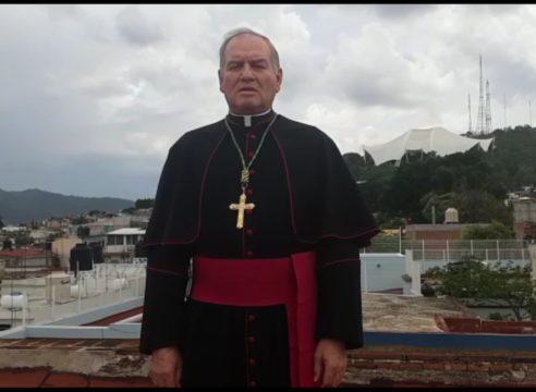 """""""Dios nos protege, pero debemos prepararnos"""": Obispo de Oaxaca"""