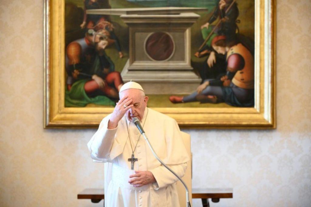 Papa Francisco en Audiencia General. Foto: Vatican Media.
