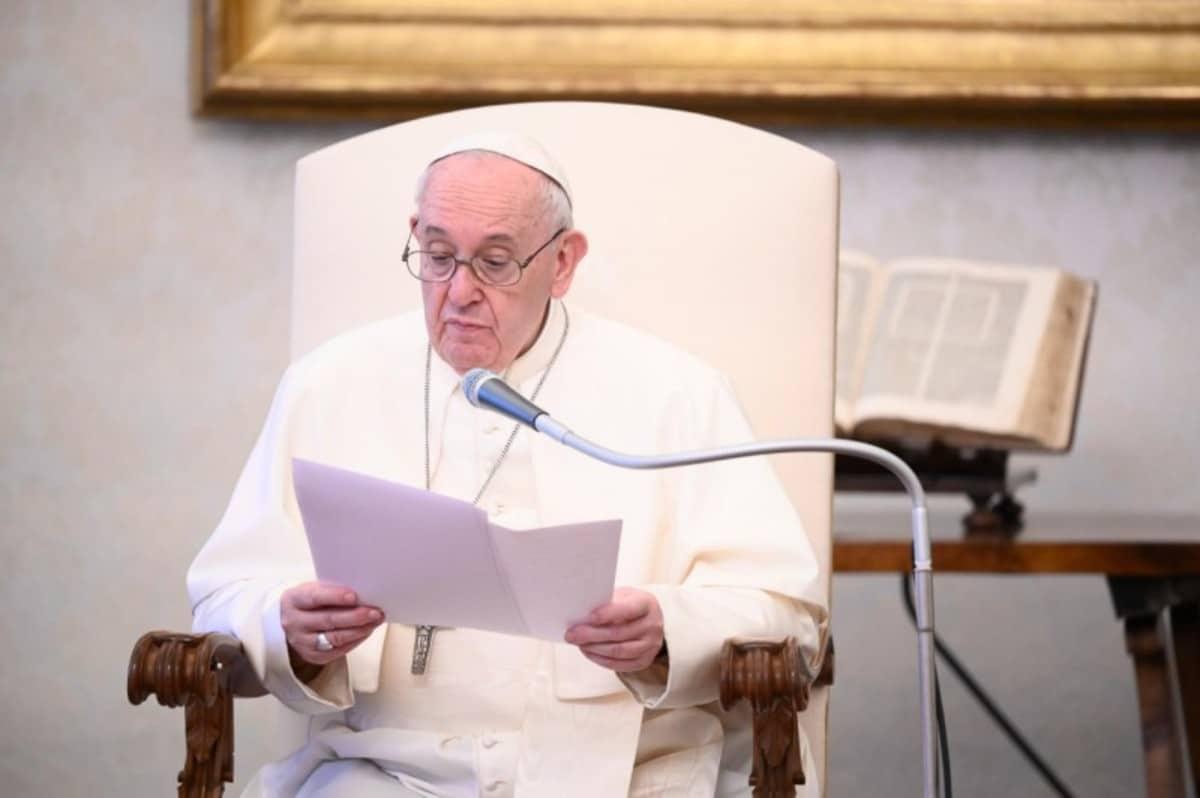 El Papa Francisco durante la Audiencia General.