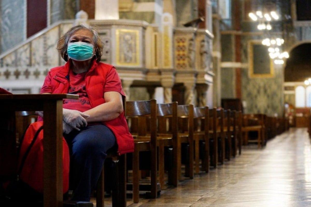 La Arquidiócesis de México se prepara para la reapertura de iglesias. Foto Vatican Media