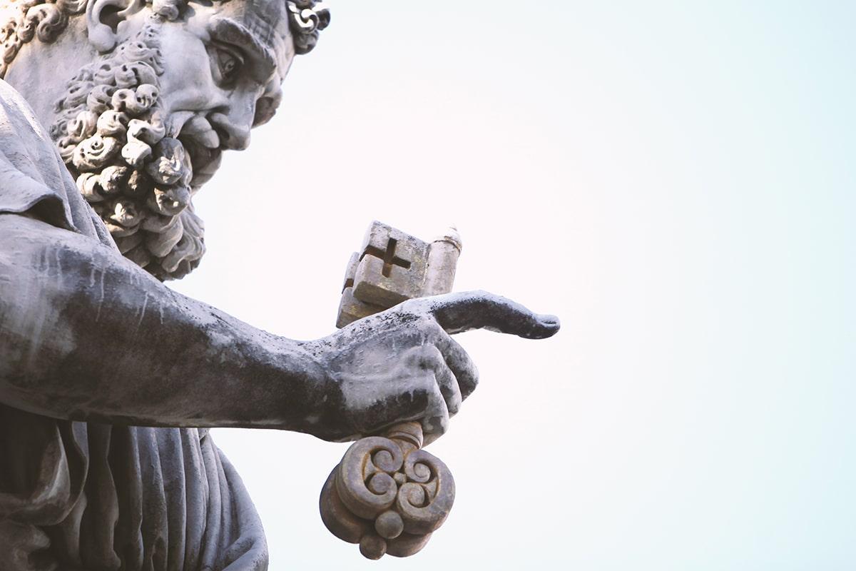 San Pedro fue el primer Papa de la historia. Foto: Fernando Nuñez/Cathopic.