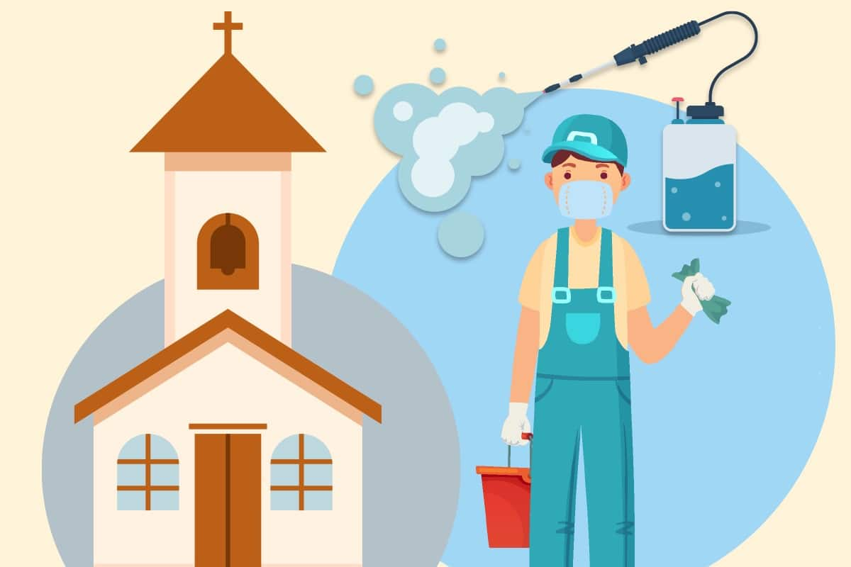 Sanitización de templos