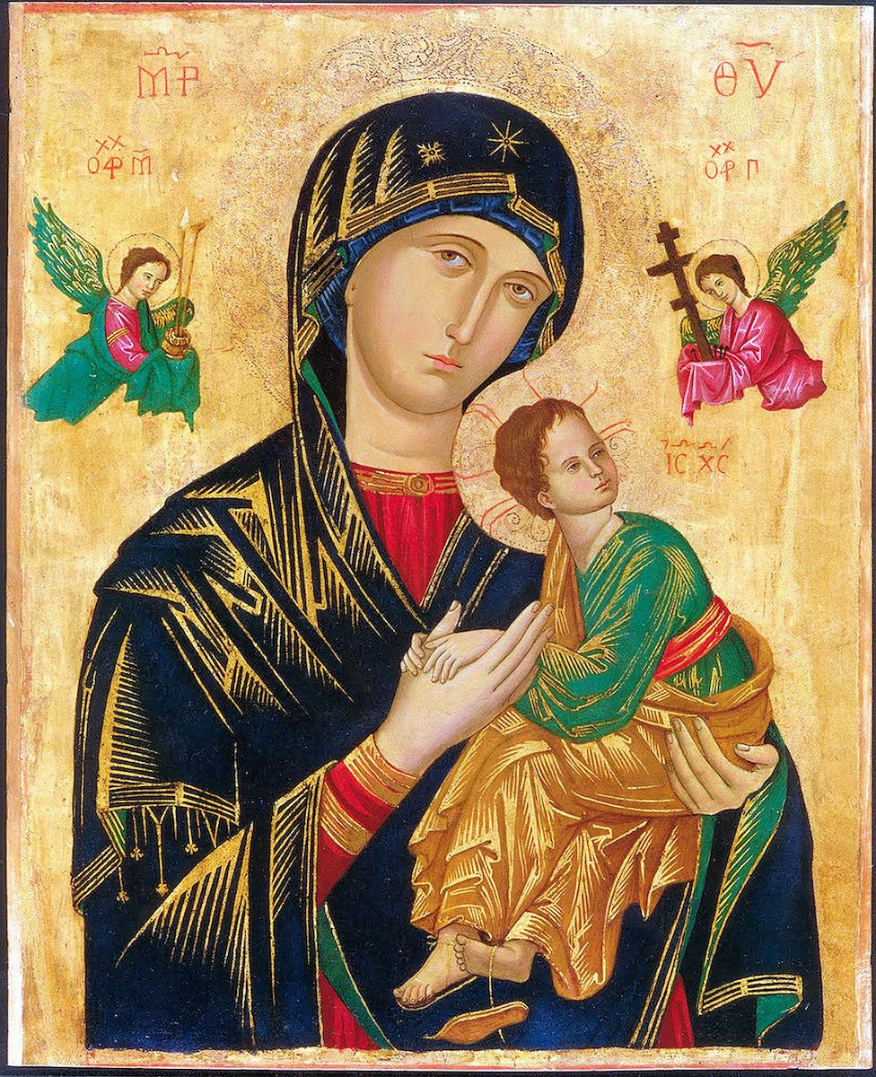 Imagen original de Nuestra Señora del Perpetuo Socorro.