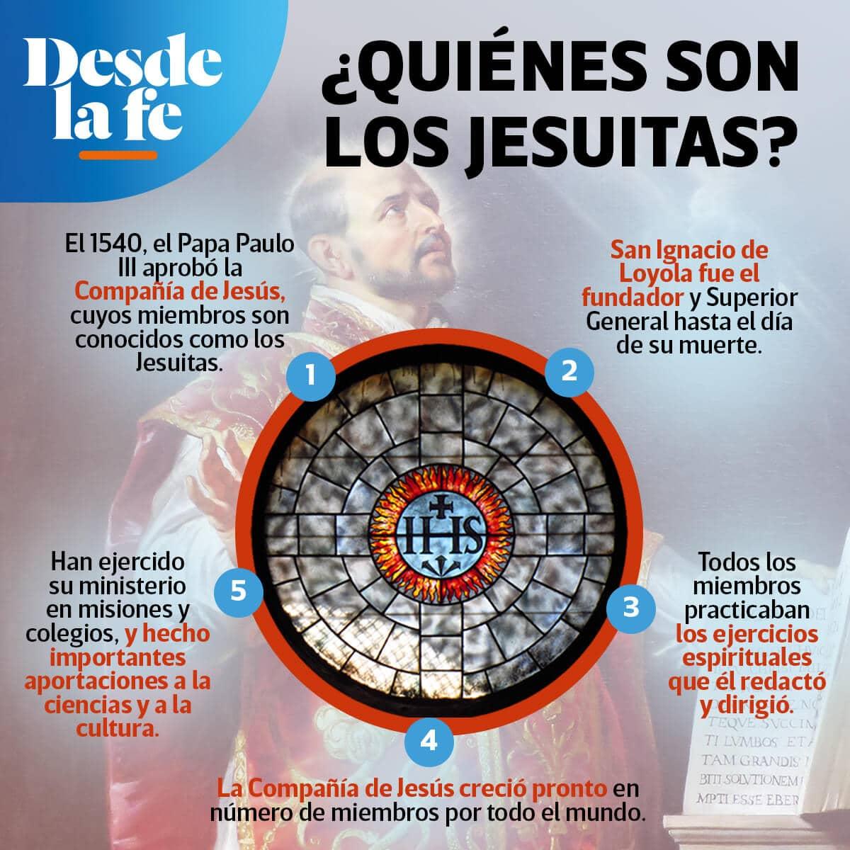 La Compañía de Jesús fue fundada por San Ignacio de Loyola.