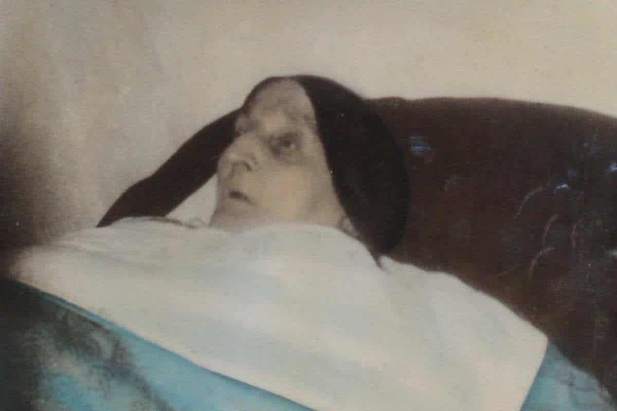 """Conocida como la """"Monja de San Bruno"""", la futura beata pasó 60 años en cama."""