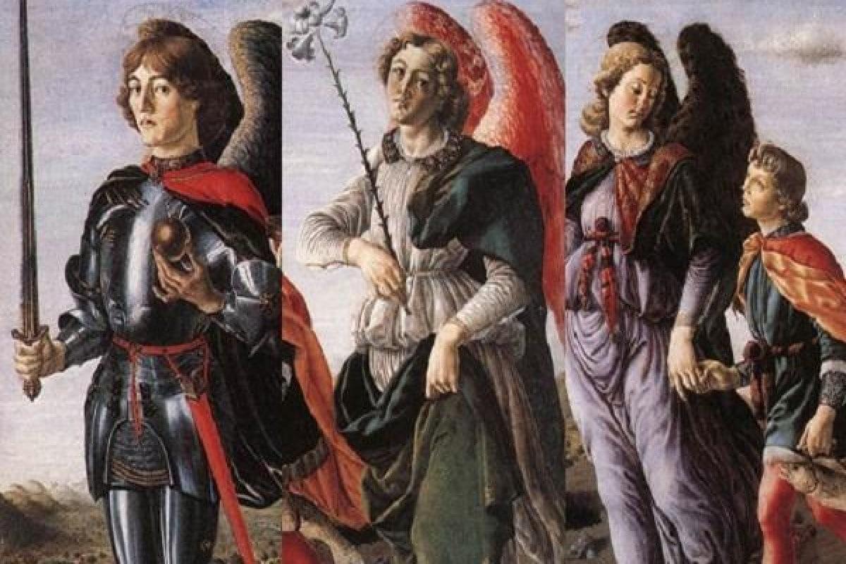 Los arcángeles Miguel, Gabriel y Rafael. Foto Opus Dei