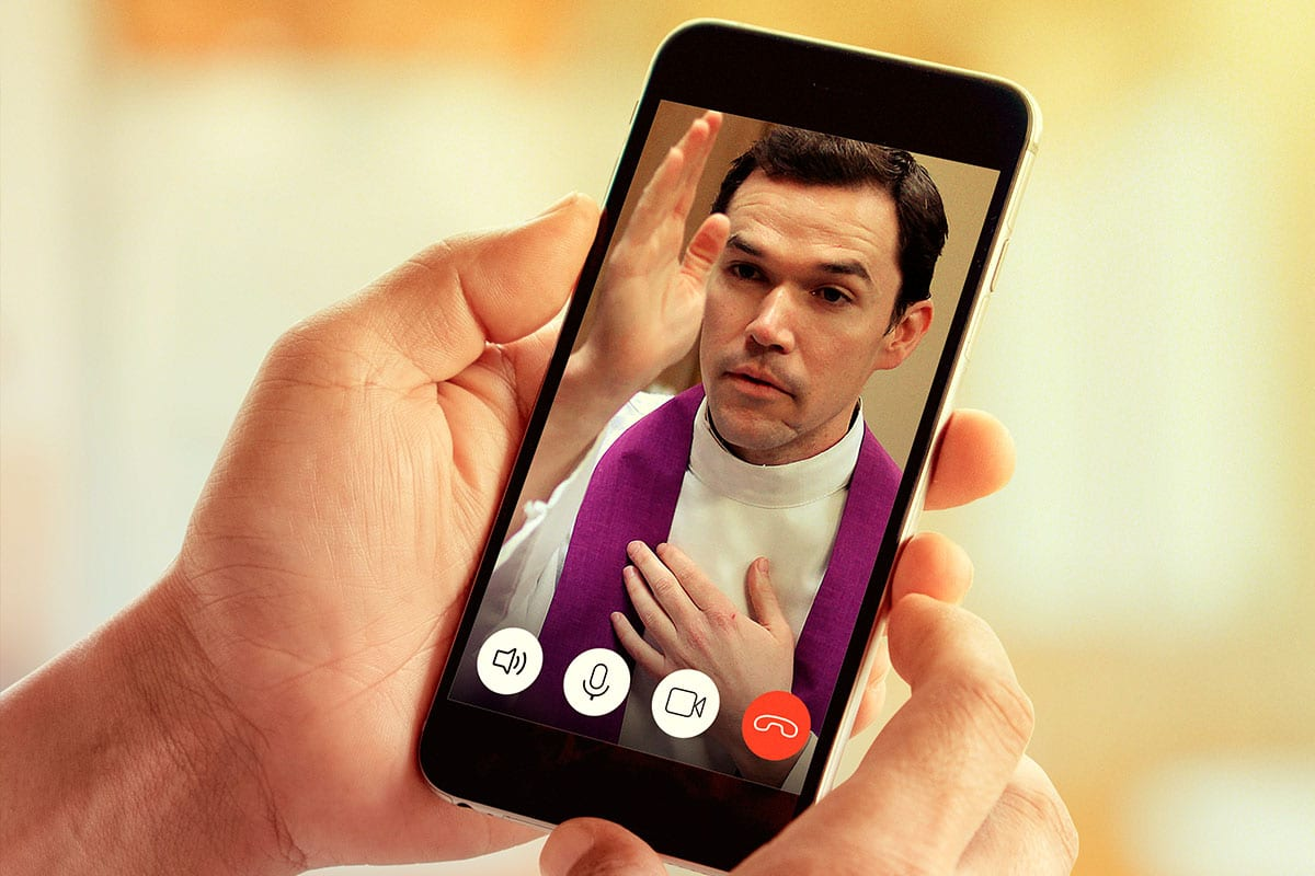 ¿Es válido confesarse por teléfono o videollamada?