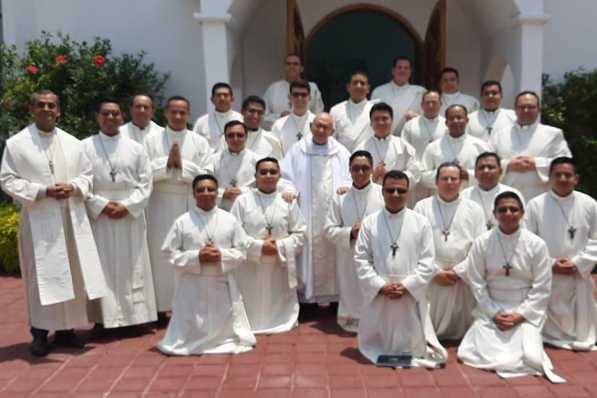 Futuros presbíteros Misioneros de la palabra. Foto Cortesía: P. Óscar Méndez/MSP