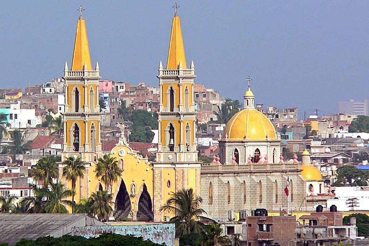 La Catedral de Mazatlan. Foto: Wikimedia Commons.
