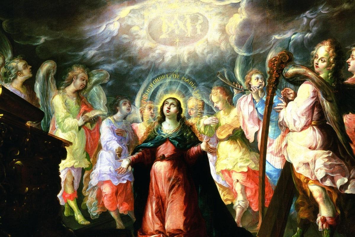 Pintado por Villalpando, en 1690 o 1700. Colección del Museo de la Basílica de Guadalupe.