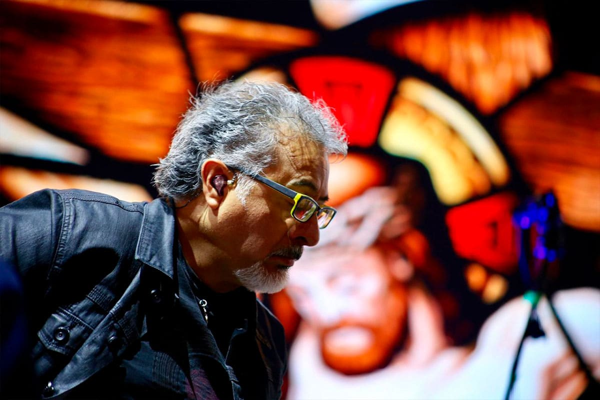 David Filio durante un concierto. Foto: Cortesía.