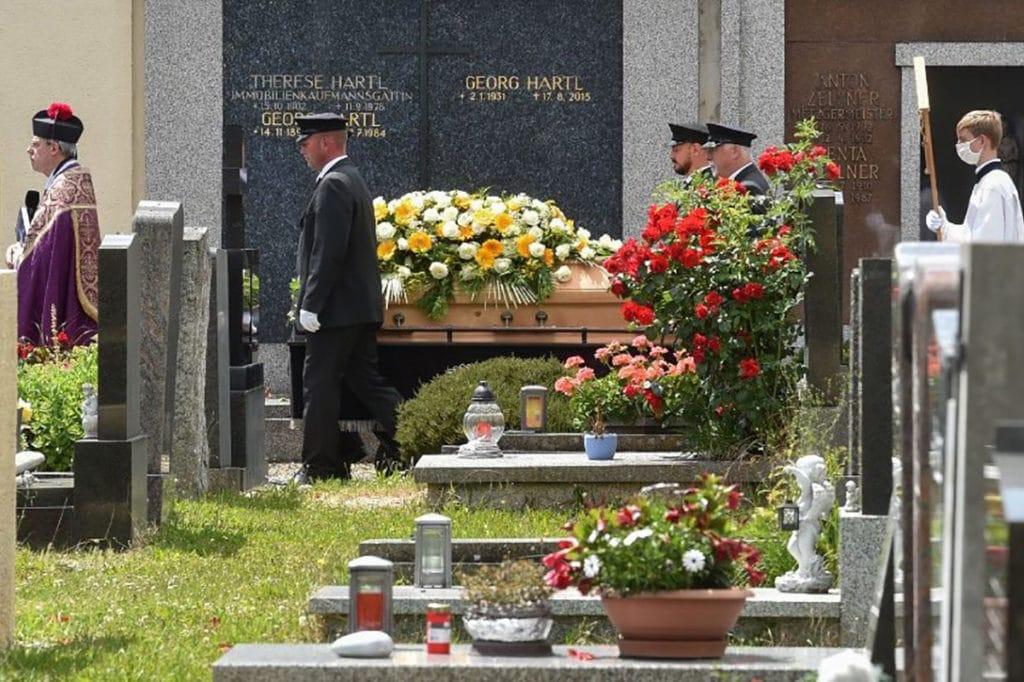 El funeral de Georg Ratziger. Foto: Vatican News.