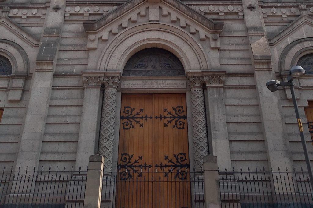 El Templo Expiatorio de San Felipe de Jesús.