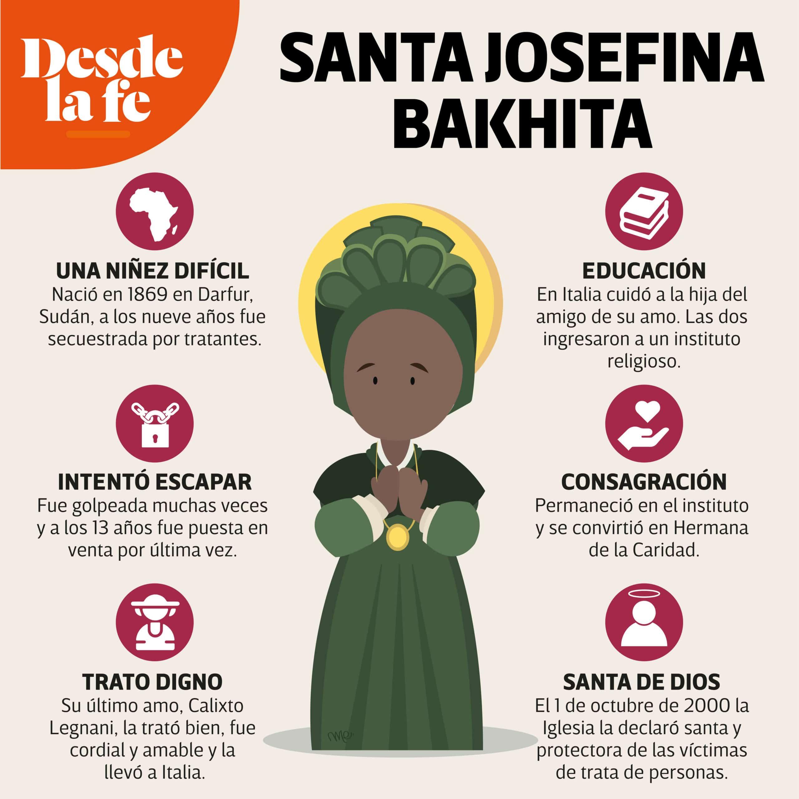 Santa Josefina Bakhita.