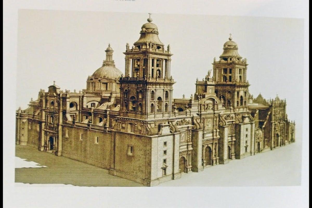 Boceto de la Catedral. Foto Especial