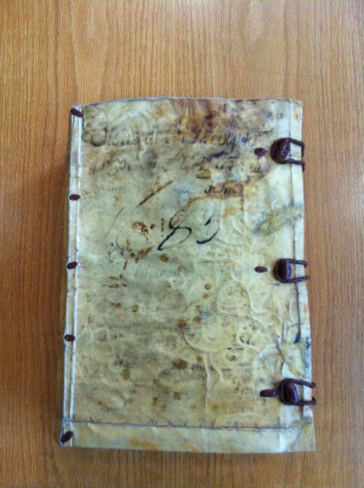 Libro de la visita pastoral del arzobispo Francisco Aguiar y Seijas