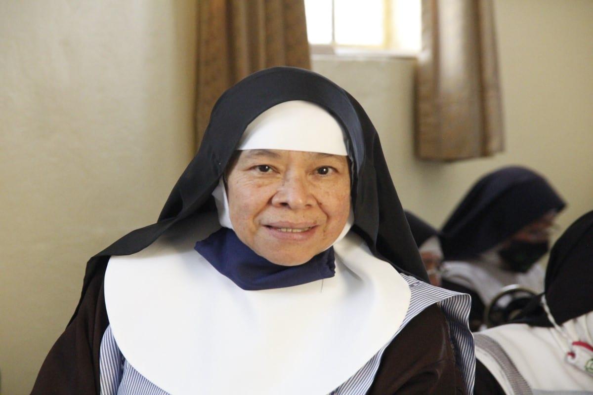 Madre Angelina, abadesa del protomonasterio de las clarisas. Foto: Javier Juárez