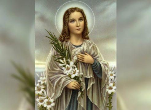 Santa María Goretti, la mártir de la pureza