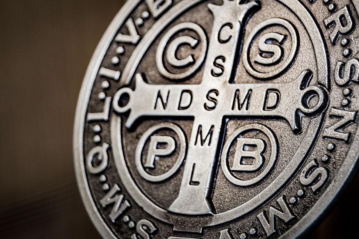 La medalla de San Benito.