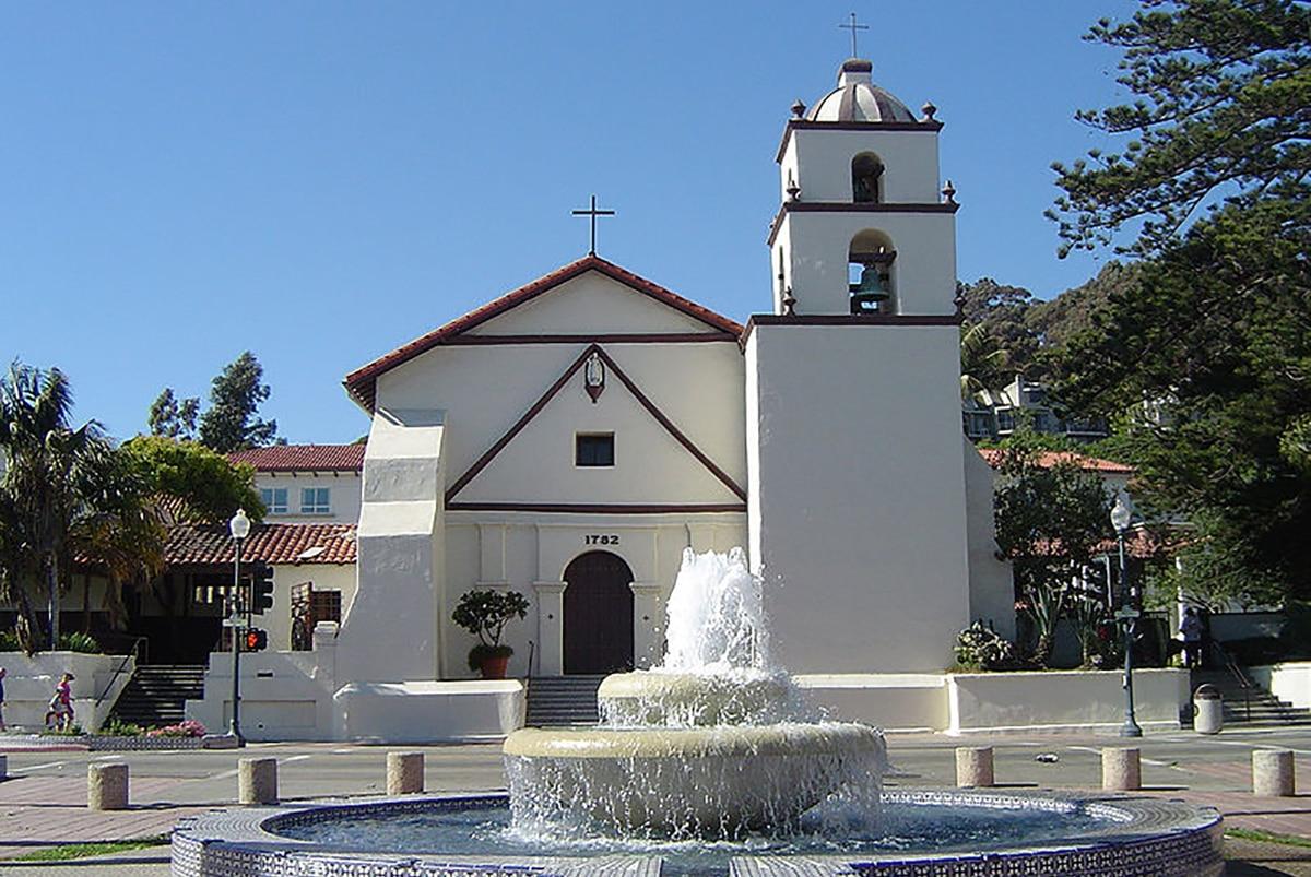 La Misión de San Buenaventura fue la última fundada por san Junípero Serra. Foto: Creative Commons.