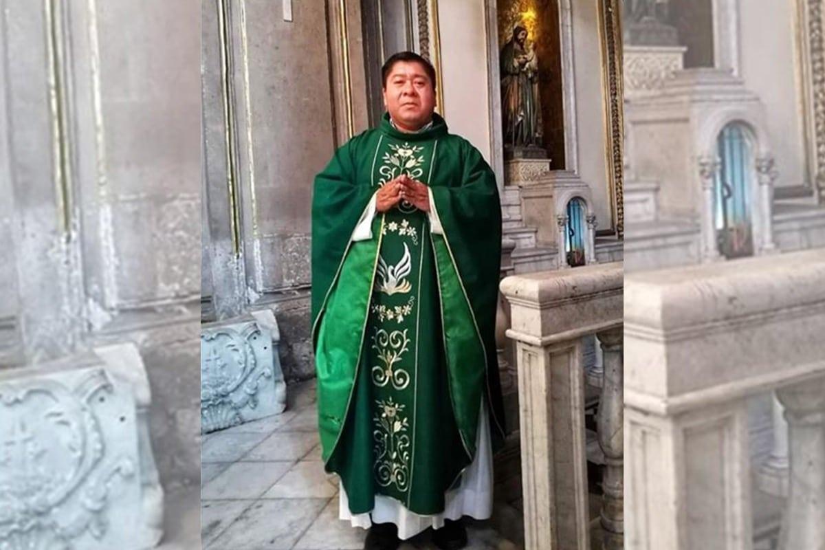 El padre Chepito fue rector por más de 7 años del Templo del Carmen, en el Centro Histórico. Foto facebook/JosédelosSantos