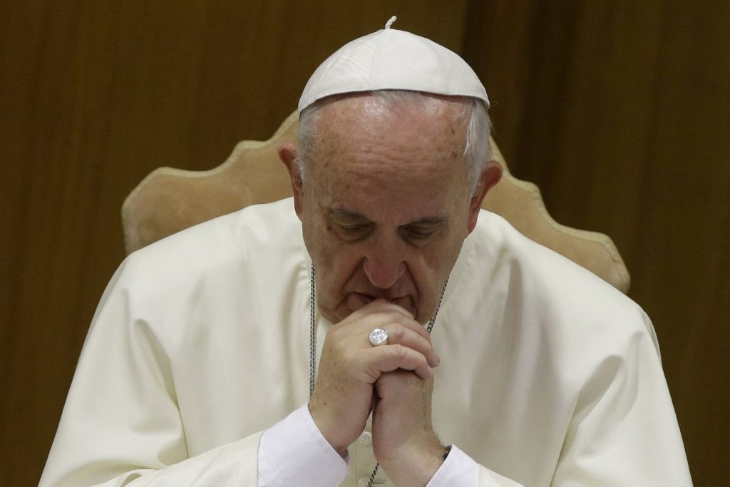 Papa Francisco en El Vaticano Foto: Vatican Media