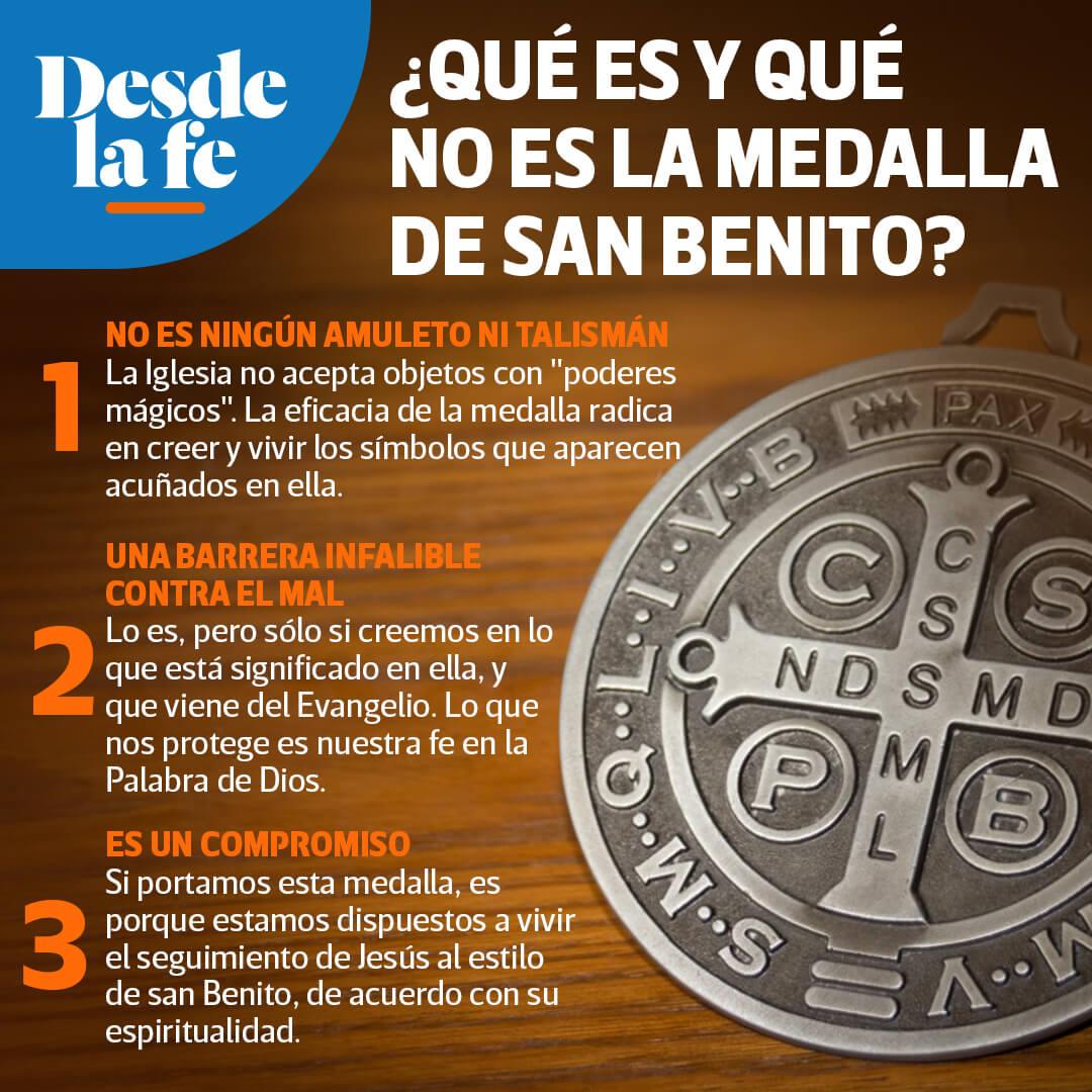 ¿Qué es la medalla de San Benito?