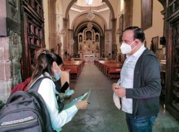 La Arquidiócesis de México verifica medidas sanitarias en iglesias