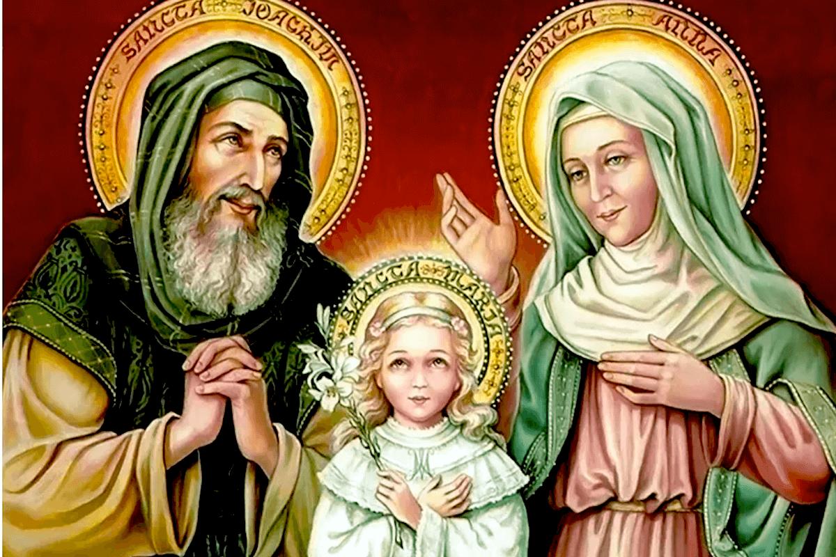 La Iglesia Católica recuerda a san Joaquín y santa Ana cada 26 de julio.