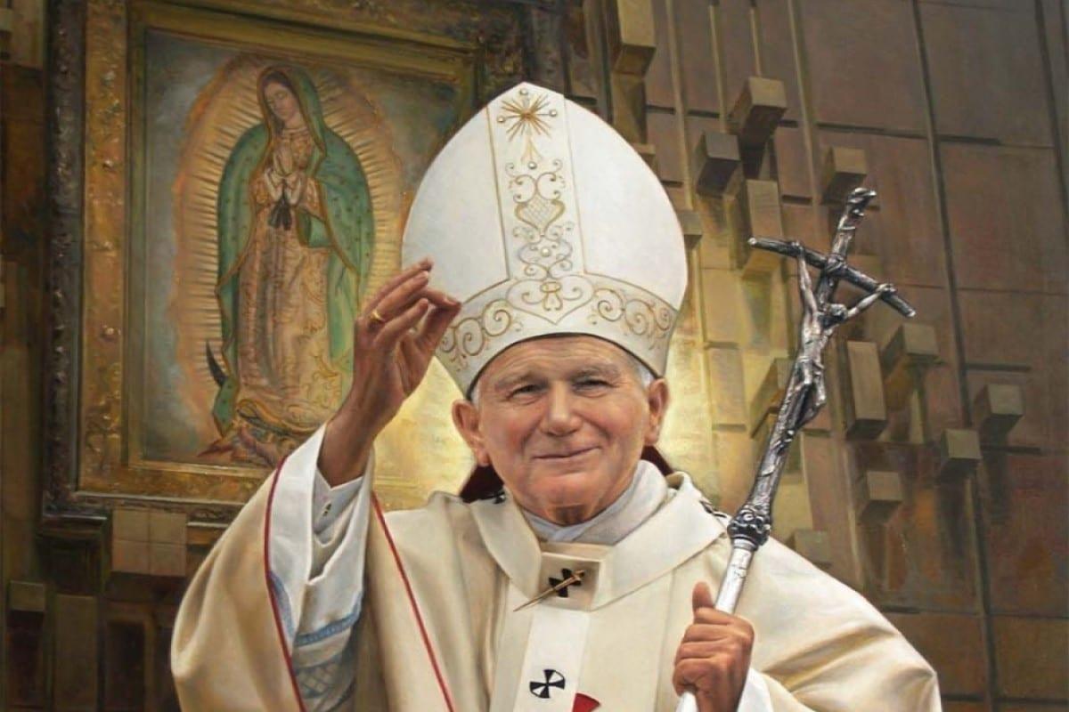 San Juan Pablo II dio a conocer esta oración a la Virgen de Guadalupe en su primera visita a México. Foto Especial