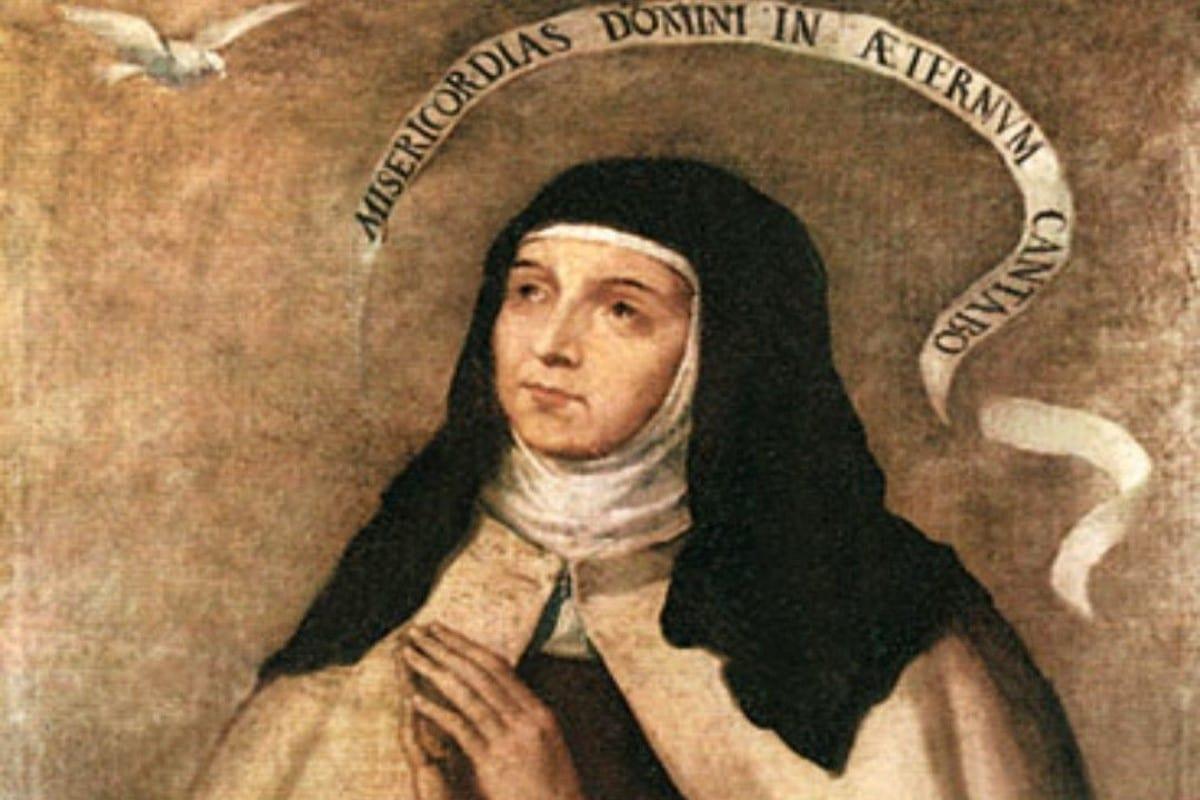 Santa de Teresa de Jesús es doctora de la Iglesia. Foto: Especial