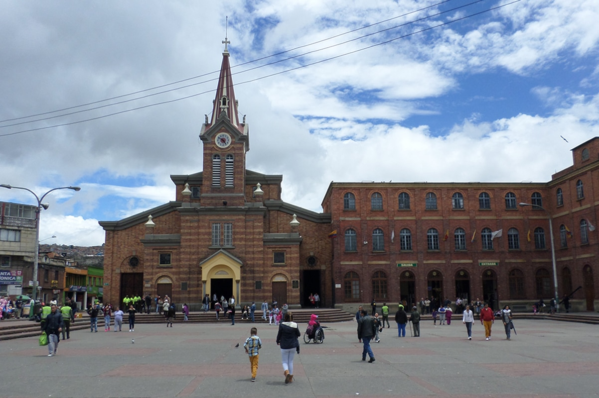 Santuario del Divino Niño en Bogotá. Foto: Wikimedia Commons.