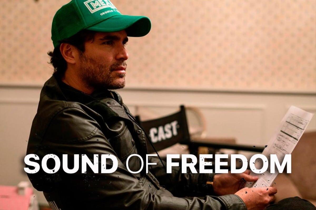 Eduardo Verástegui es el productor de la película Sound of Freedom.