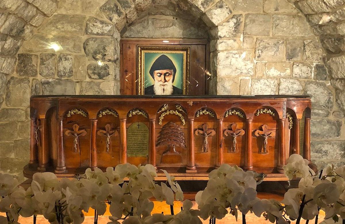 La tumba de San Charbel en Líbano. Foto: TripAdvisor