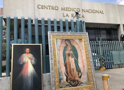 La Virgen de Guadalupe visita más de 15 hospitales COVID-19 en CDMX