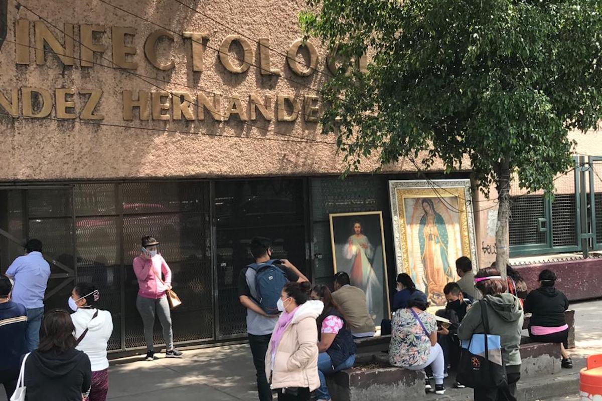 Estas imágenes han recorrido distintos hospitales COVID en la Ciudad de México. Foto: Unión de Voluntades