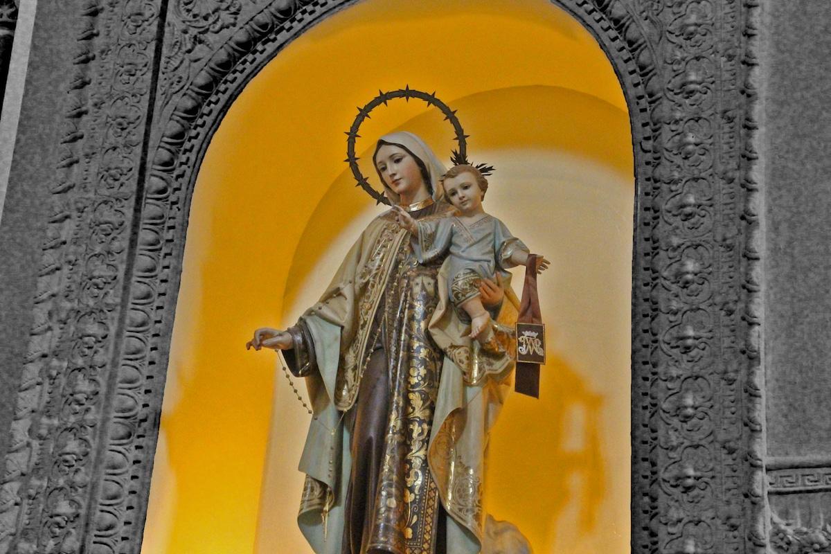 Nuestra Señora del Carmen. Foto: Cathopic
