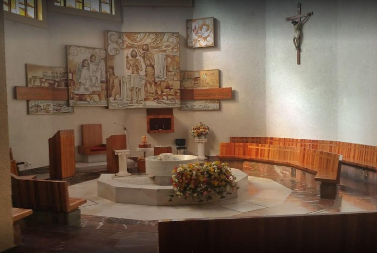 El Bautisterio de la Villa de Guadalupe.