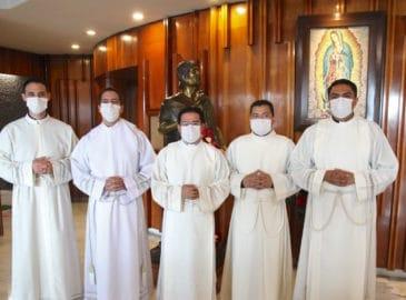 Así fue la ordenación de los diáconos de la Arquidiócesis de México