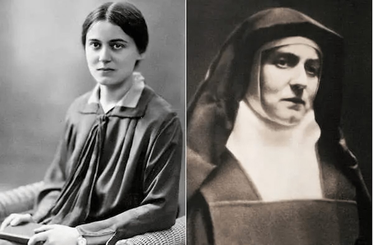 Santa Edith Stein, conocida como Santa Teresa Benedicta de la Cruz.