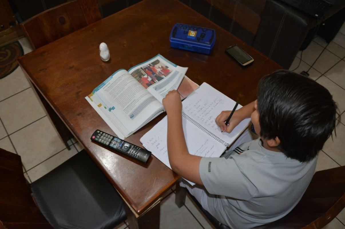 El ciclo escolar 2020-2021 será a distancia. Foto: Gobierno de Chihuahua.